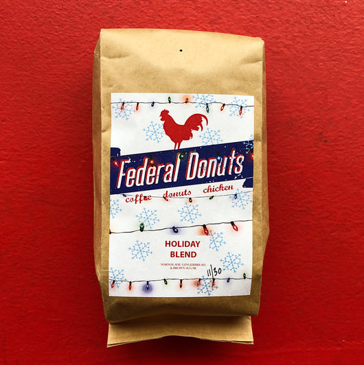 Federal Donuts Holiday Blend Coffee Beans
