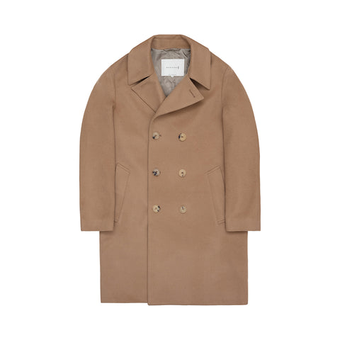 Men's Camel Overcoat
