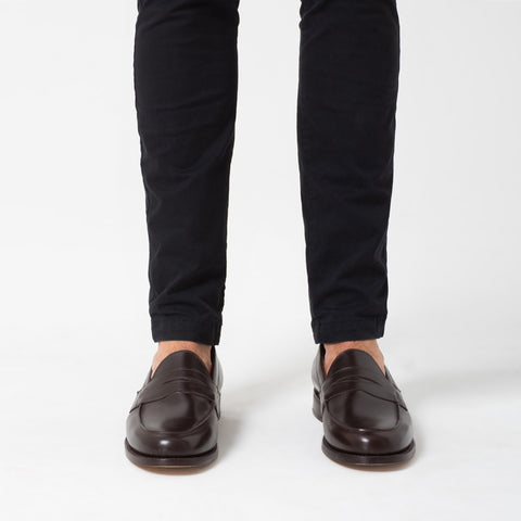 Dark Brown Loafers
