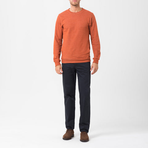 Orange Pocket Sweatshirt