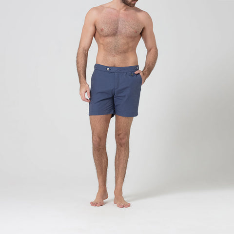 Light Navy Swim Shorts