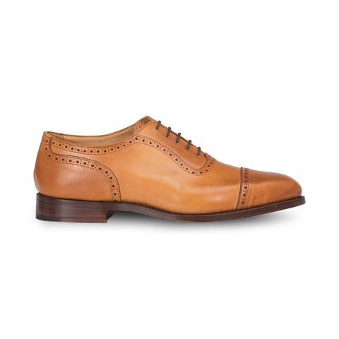 Brown Toecap Oxford Brogue