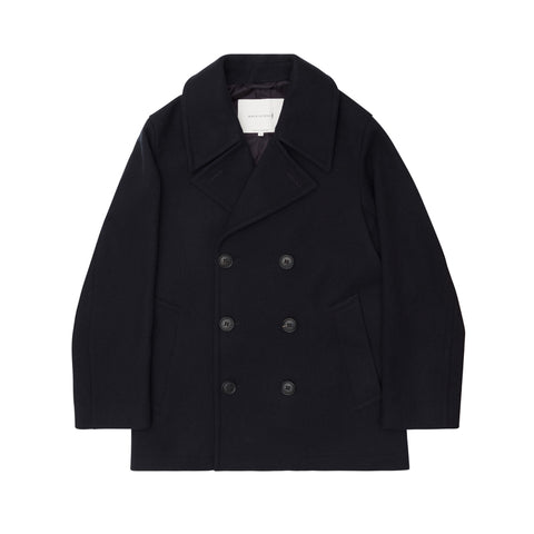 Women's Navy Pea Coat