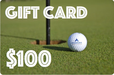 Father's Day Gift Card - $100 includes FREE Golf Balls!