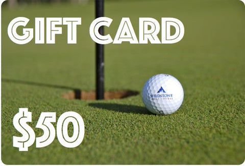 Wildstone Gift Card - $50