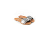 NEW SPECTRUM LIGHT GREY FLAT SANDALS