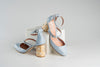 PERLA BABY BLUE PUMPS