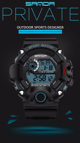 Sanda™: The LED Sport Watch