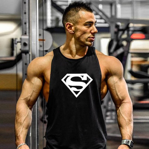 Superman Workout Tank