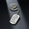 Image of Always Remember You Are Braver Than You Believe Inspirational Pendant Necklace