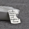 "Image of ""Daddy's Girl Mama's World"" Necklace"