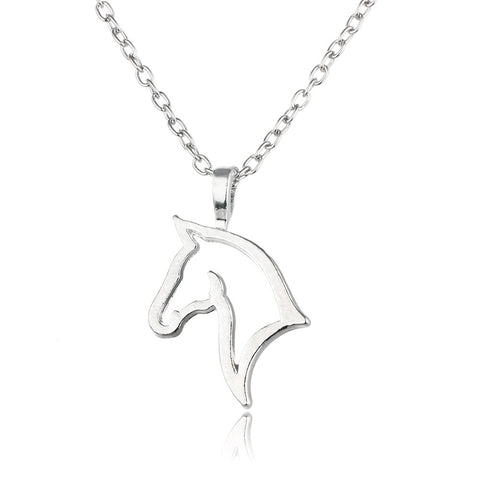 Horse Pendant Necklace - Animal Lovers Gift