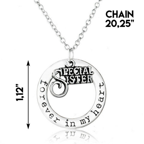 """Special Sister"" Necklace"