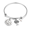 Image of I Love You, Mom Expandable Rafaelian Bracelet Mom Bracelet