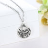 Image of Super Mom Pendant Charm Necklace