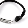 Image of Respect the pain, it's your teacher Motivational Pendant Bracelet