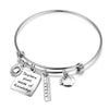 Image of Teacher Bangle Bracelet Teacher Appreciation Gift