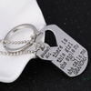 Image of Grandma's Girl Necklace & Keychain Set