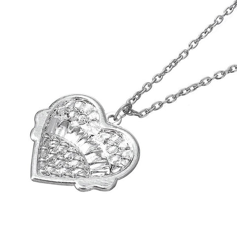Nurse Heart Charm Pendant Necklace