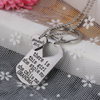 Image of Grandma's Girl Necklace & Keychain Set - Grandma and Granddaughter Necklace Set