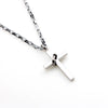 Image of Luvalti Cross and Ring Pendant Necklace - Christian Jewelry for Men and Women