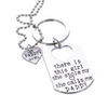 Image of Daddy's Girl Necklace & Keychain Set