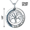 Image of Tree of Life Pendant Necklace - Forever in my heart