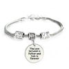 Image of The Love between a Father and Son is Forever Bracelet