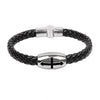 Image of Black Cross Bracelet - Christian Jewelry for Men and Women