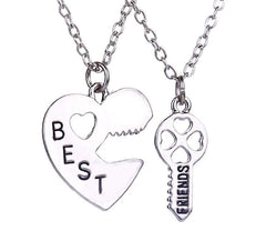 Best Friends Necklace Set - Personalized Friendship Jewelry Gift