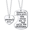 Image of Grandma's Girl Pendant Set Necklace