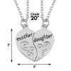 Image of Mother and Daughter Set of 2 Pendant Necklaces
