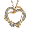 Image of Double Heart Necklace