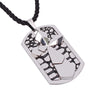 Image of Luvalti Cross and Silver Pendant Necklace - Christian Jewelry for Men and Women