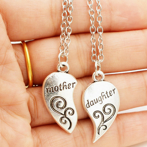 Mother & Daughter Set of 2 Pendant Necklaces