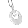 "Image of ""I Love You to the Moon and Back"" Pendant Necklace"