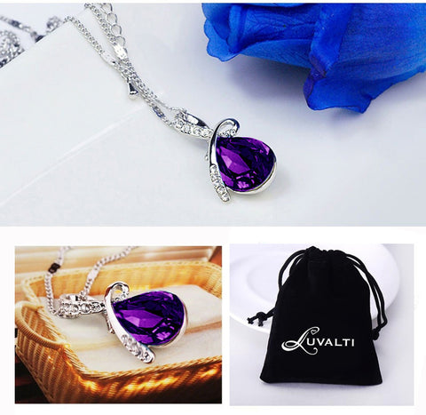 Angel Tear Drop Necklace