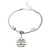 Image of Love Between Grandfather and Granddaughter is Forever Bracelet