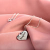 Image of Daughter Heart Pendant Necklace