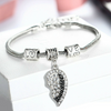 Image of Mother & Daughter Heart Bracelets - Set of 2