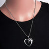 Image of Horse Heart Pendant Necklace - Perfect Custom Jewelry Gift For Horse Lovers