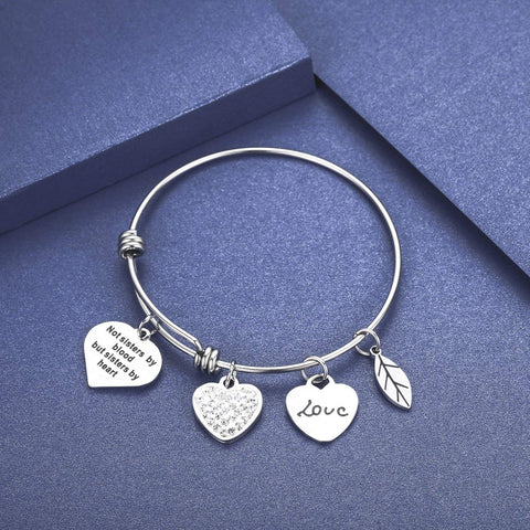 Friendship Expandable Bangle Bracelet Adjustable Bangle Gift for Friends