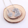 Image of Grandma's Girl Pendant Set Necklace - Grandma and Granddaughter Necklace