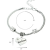 Image of Best Friend Heart Charm Bracelet