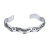 Image of A journey is best measure by friends not miles Engraved Bracelet - Friendship Jewelry