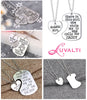 Image of Daddy's Girl - Father Daughter Pendant Necklace Set