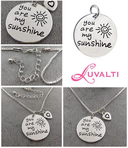 You Are My Sunshine - Pendant Necklace