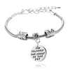 Image of She believed she could so she did - Pendant Charm Bracelet