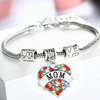"Image of ""Mom"" Multi-Color Charm Bracelet"