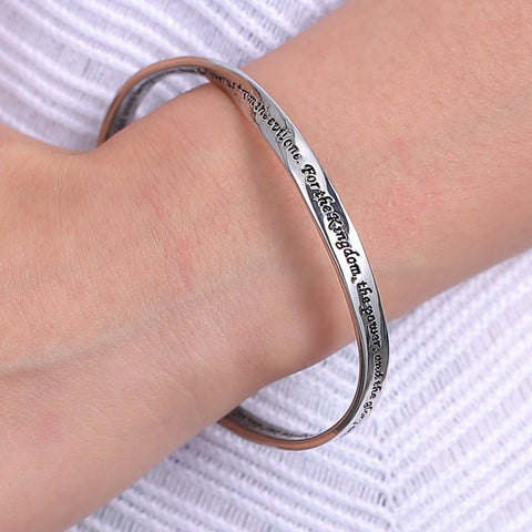 Reversible Faith Prayer Bracelet - Christian Jewelry for Women
